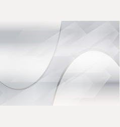 gray abstract waves background with wavy lines vector image
