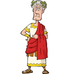 The Roman emperor vector image