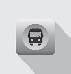 vehicle icon vector image