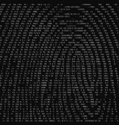 Abstract binary representation of vector