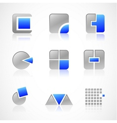 Construction symbols vector image
