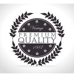 Vintage retro design vector image