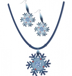 necklace vector image vector image