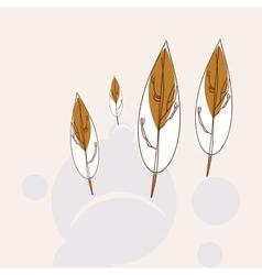 Trees icon vector image