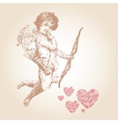 Angel or cupid vector