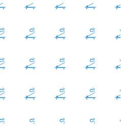 Aroma stick icon pattern seamless white background vector