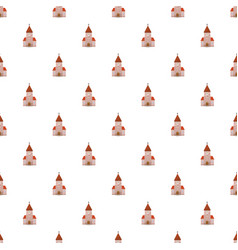 Church pattern vector
