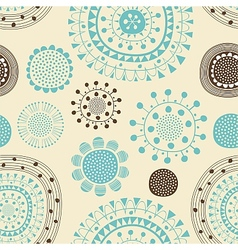festive pattern vector image