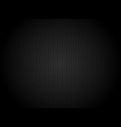 hexagon dark background black honeycomb abstract vector image