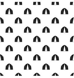Human house pattern seamless vector