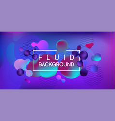 liquid color covers vector image