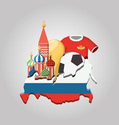 russia design vector image
