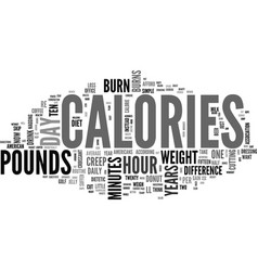 What s calories a day text word cloud concept vector