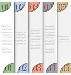 Creative design template vector image