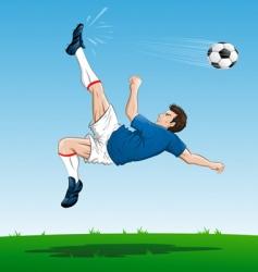 kick vector image