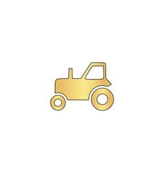 tractor computer symbol vector image