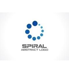 Abstract business company logo Social media vector image