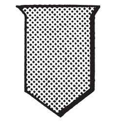 or shield metal are escutcheon emblazoned with vector image vector image