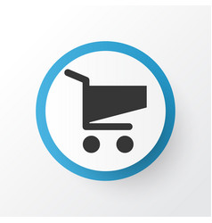cart icon symbol premium quality isolated vector image