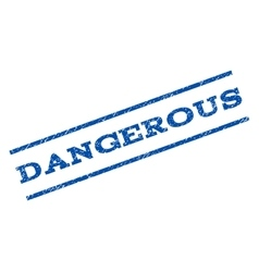 Dangerous Watermark Stamp vector