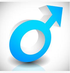 male men symbol sign icon eps 10 vector image