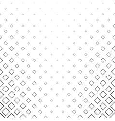 monochrome square pattern background vector image