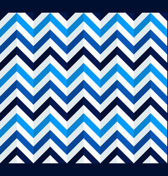 Navy blue and white chevron pattern vector
