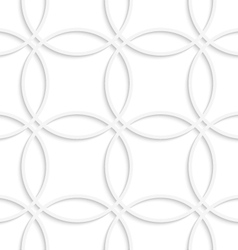 Simple intersecting circles seamless vector