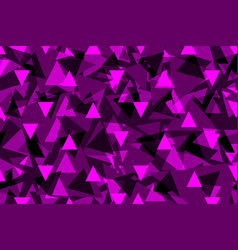 triangle background - purple vector image