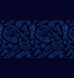 Wallpaper background pattern soccer football vector