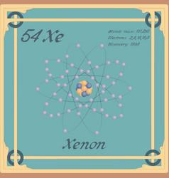 Xenon colorful icon vector