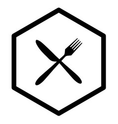 Cutlery and comb vector
