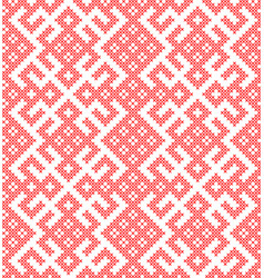 seamless pattern based on traditional russian and vector image
