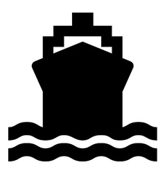Ship Symbol vector image