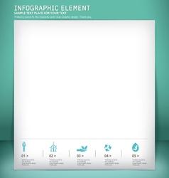 template modern design template vector image