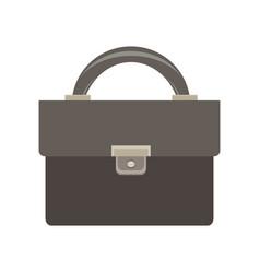 briefcase icon business bag black case design vector image