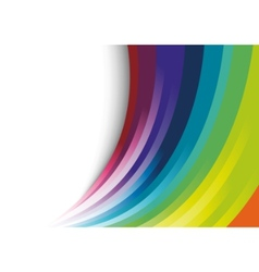 abstract halftone rainbow background vector image