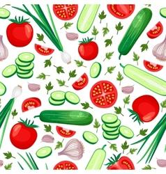 Healthy food background vector image vector image