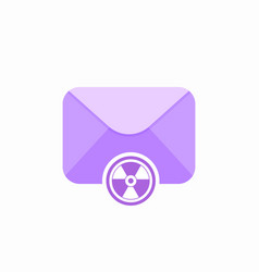 anti virus email control email spam virus control vector image vector image
