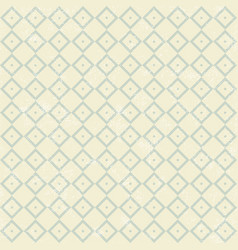 pattern in retro style with gray squares vector image