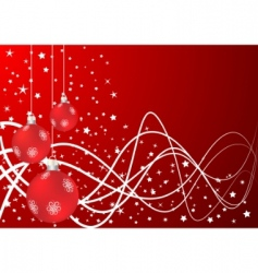 vector Christmas background vector image vector image