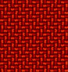 woven background vector image
