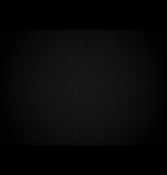 Hexagon dark background black honeycomb abstract vector