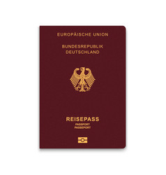 Passport vector