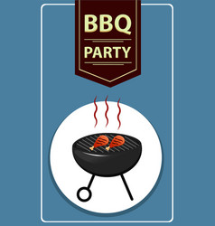 barbecue 05 vector image