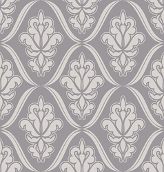 Damask beautiful background vector image vector image