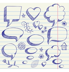 hand drawing on paper sheet vector image vector image