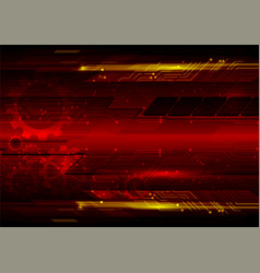 abstract red background digital vector image vector image