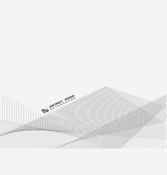 abstract line zigzag cover on white background vector image