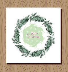 Christmas wreath3 vector